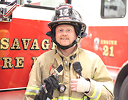 Meet a Savage Firefighter