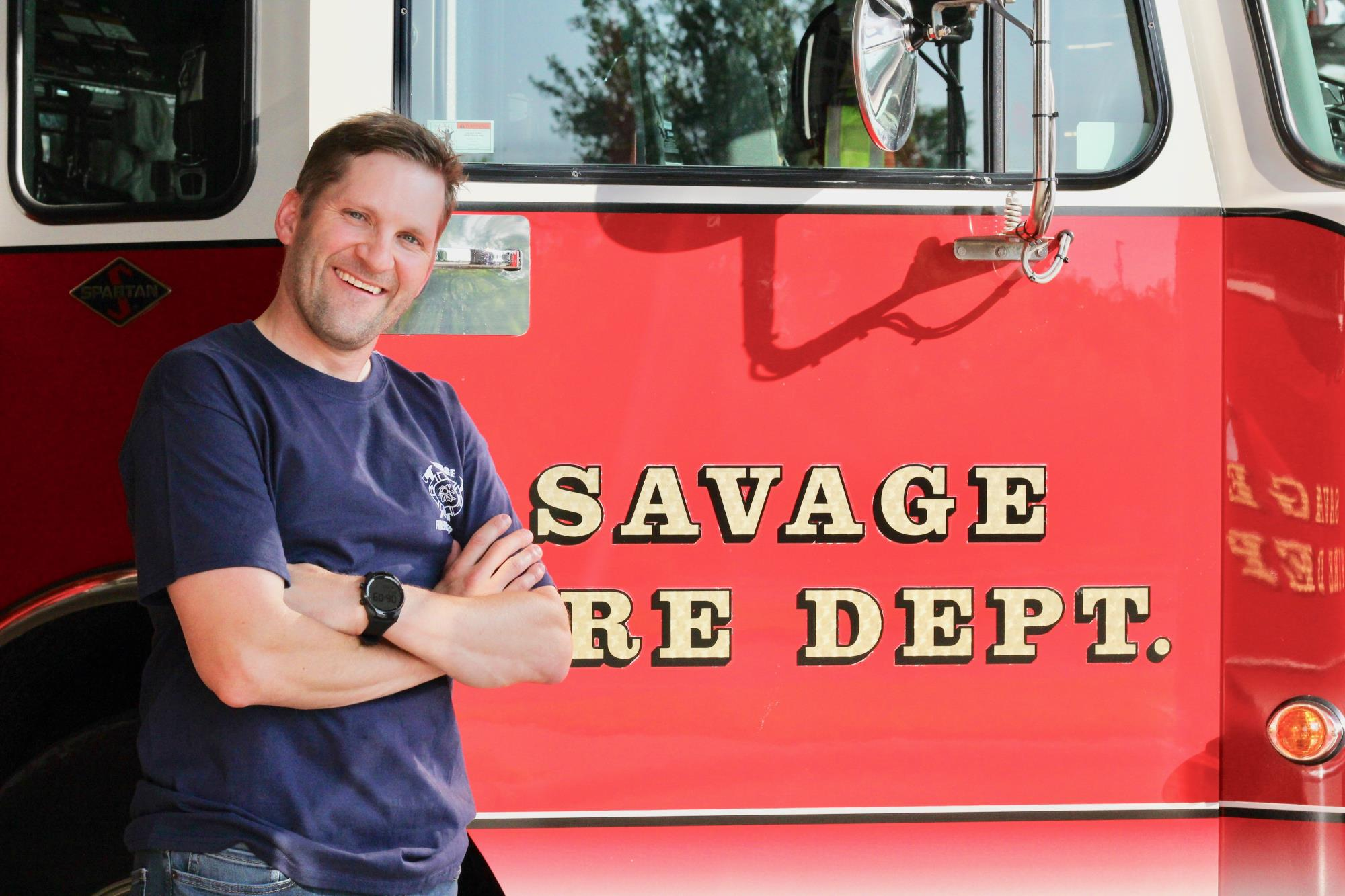 Firefighter Aaron Price